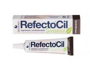 RefectoCil Sensitive Barva na řasy a obočí tmavě hnědá