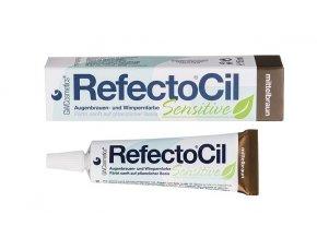 RefectoCil Sensitive Barva na řasy a obočí středně hnědá