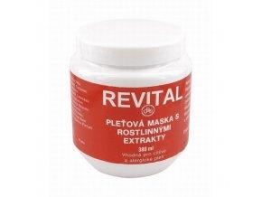 REVITAL Gelová maska s rostlinnými extrakty 380 ml