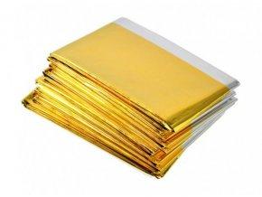 Izotermická fólie zlatá