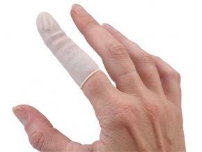 Návlek na prst latexový nepudrový M