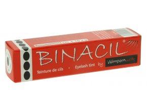 Barva na řasy a obočí BINACIL světlečerná grafit 15 ml