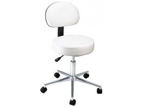 Kosmetická židle s opěrkou BEAUTY