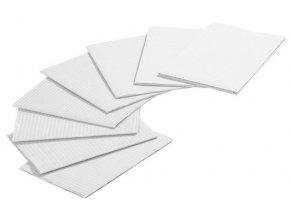 Jednorázové podložky bílé 80 ks