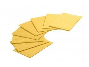 Jednorázové podložky žlutá 10 ks