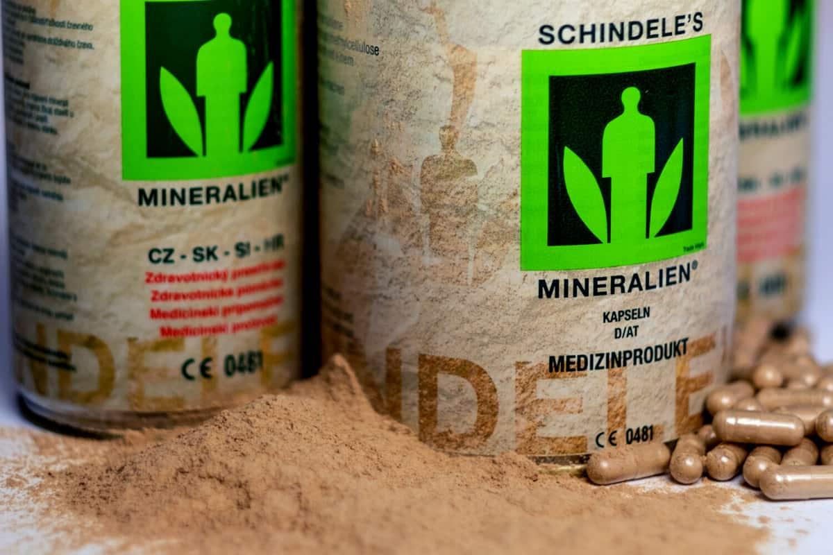 Účinky Schindeleho minerálů