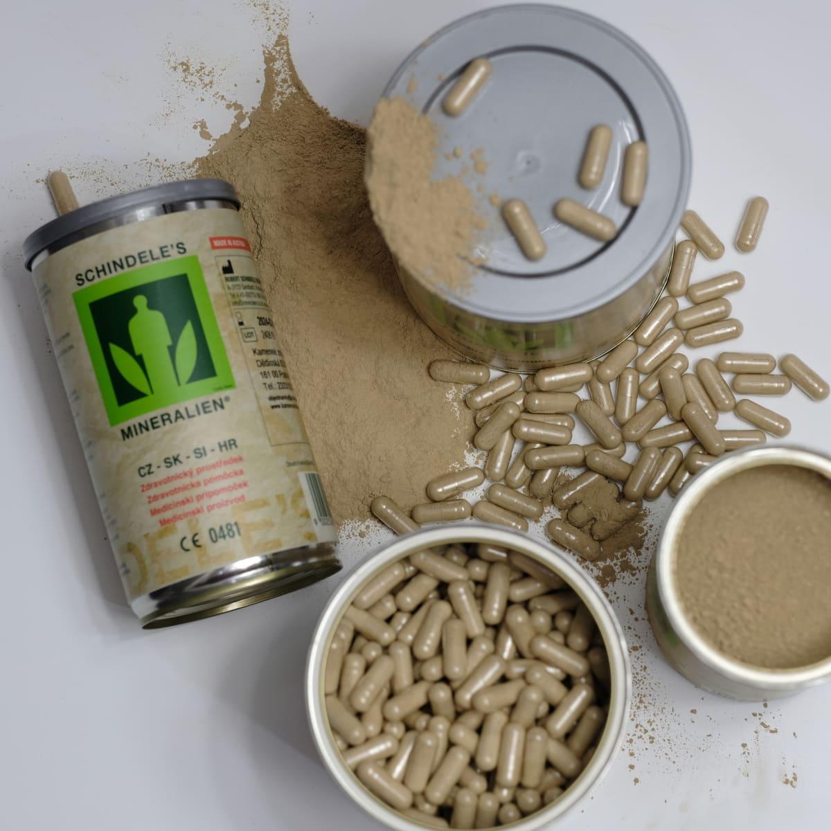 Vážou toxiny, harmonizují zažívání - Schindeleho minerály pomáhají