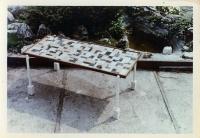 Intarzovaný stůl - František Vorel