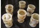 Kamenné poháry 7 cm