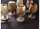 Kamenné poháry 12 cm