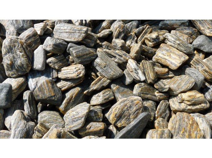 Kamenná kůra omílaná