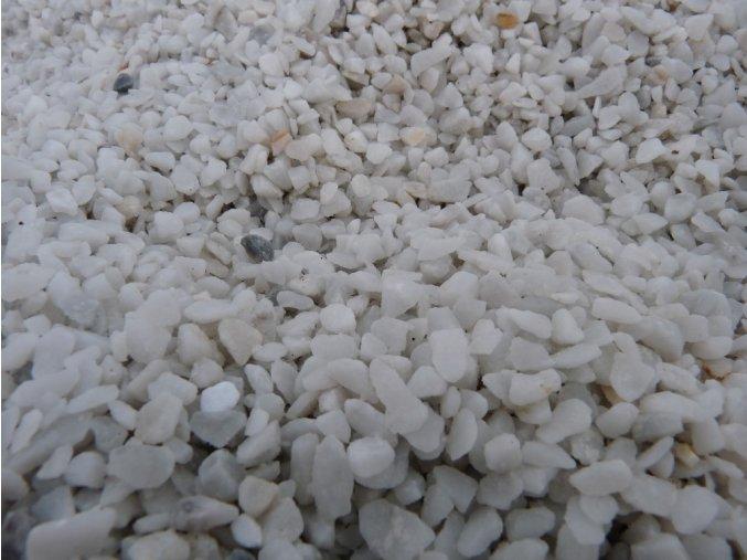 Drť Bianco carrara
