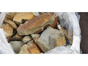 Skalkový kámen droba - zdivo