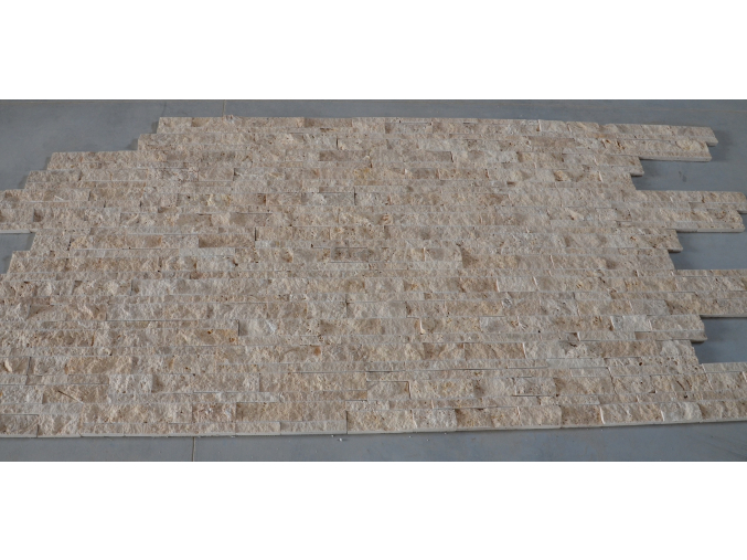 Travertin Classic panel 60 cm x 15 cm x 1,5 – 2,5 cm