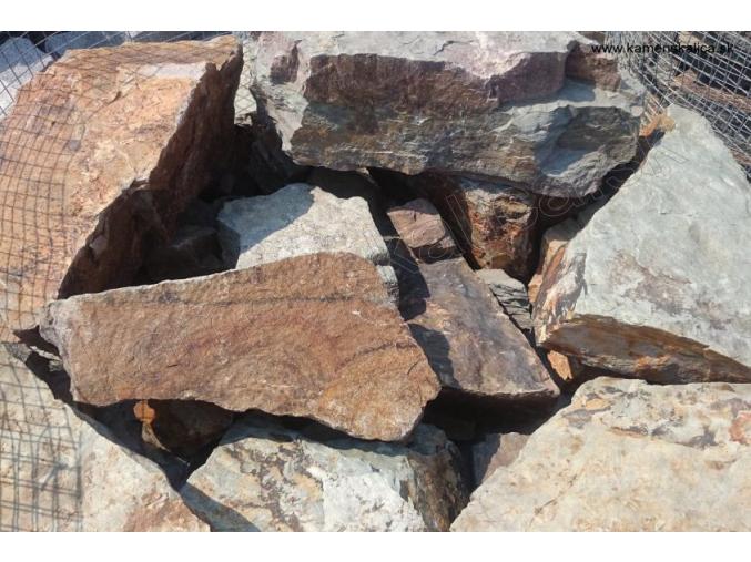 Kremenec B1 murovací kôš pr. 10-40 cm, hr. 5-15 cm
