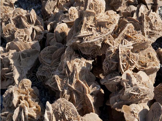 Púštna ruža - kusový kameň pr. rôzne