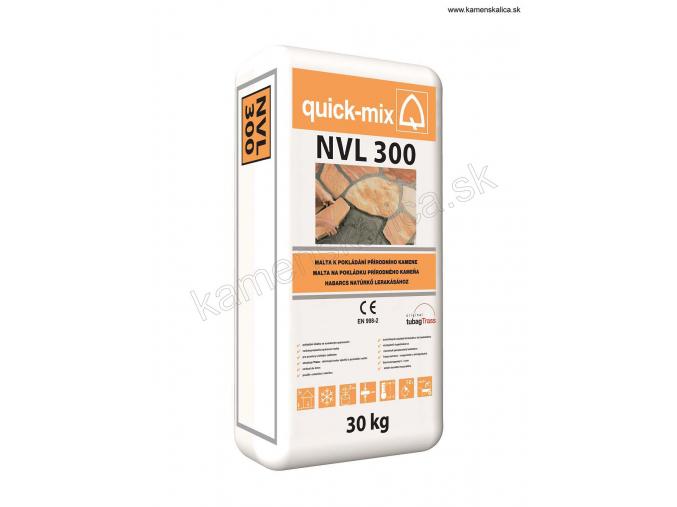 Malta na kladenie a škárovanie NVL 300 - 30 kg šedá