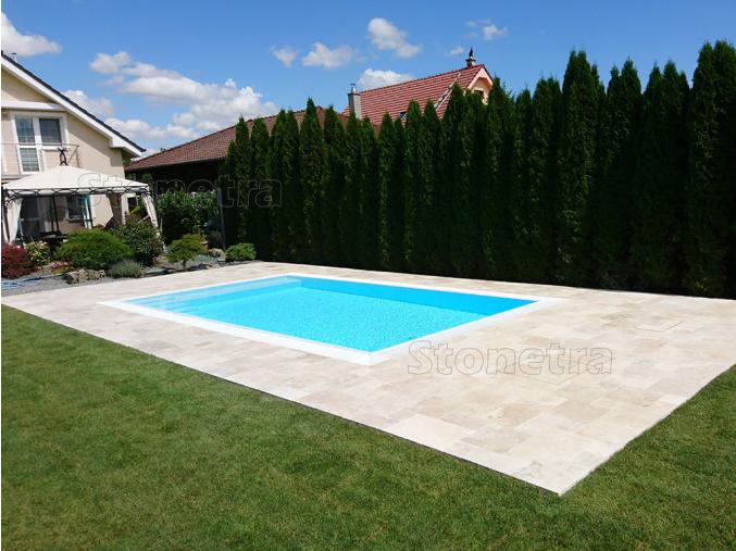 dlažba okolo bazénu classic