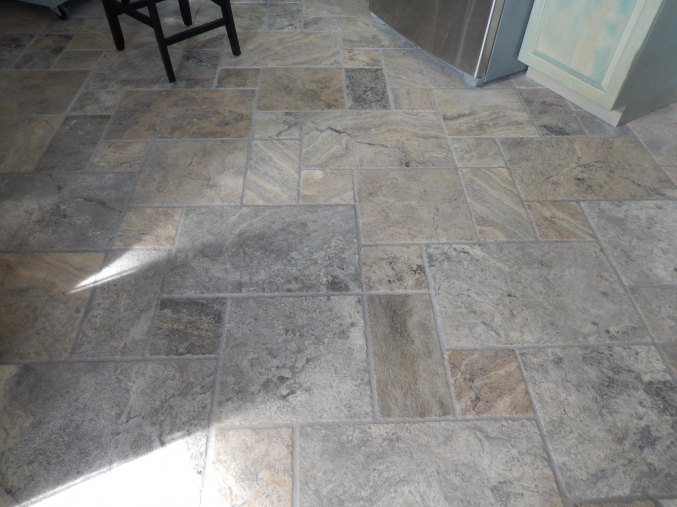 French Pattern Silver Travertine