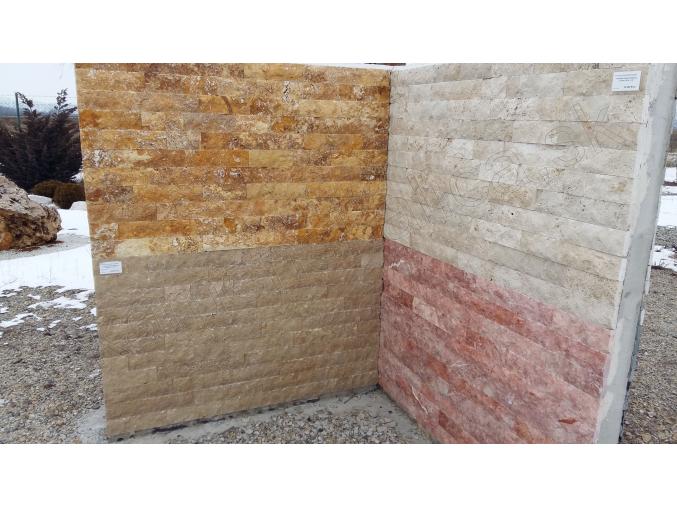 Travertin - kamenný obklad 4x rezaný Noce