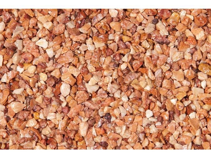Breccia Pernice kameň + pojivo pre kamenný koberec