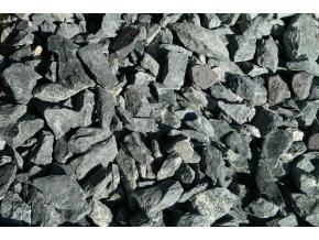 Prírodný kameň- amfinolit - okrasný štrk-dekoračný kameň - drť