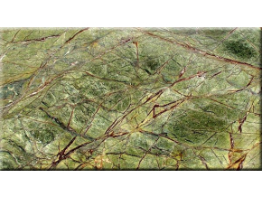 Rainforest Green Bidasar Green Marble