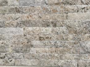 Travertín - kamenný obklad 4x rezaný Silver