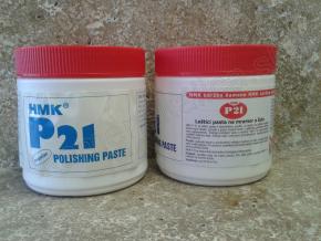 HMK P21 leštiaca pasta na mramor a žulu - biela 0,5 l