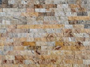 Travertín - kamenný obklad 4xrezaný Scabas