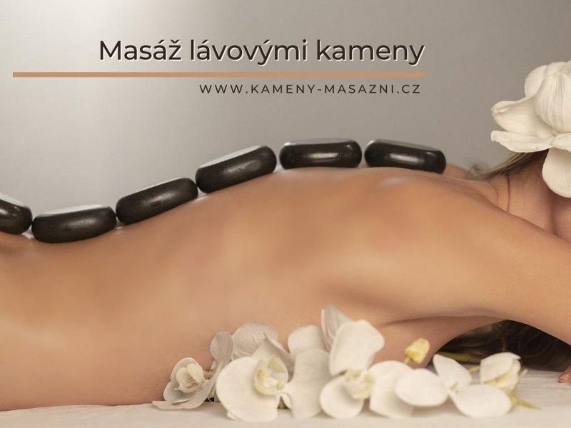 Domácí masáž lávovými kameny