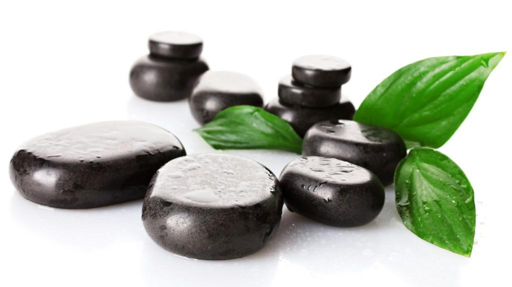 Lávové kameny - Návod na masáž.
