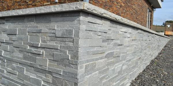 Jak dělat rohové prvky a kamenické rohy u obkladového kamene
