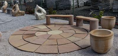 Terasy z kamene
