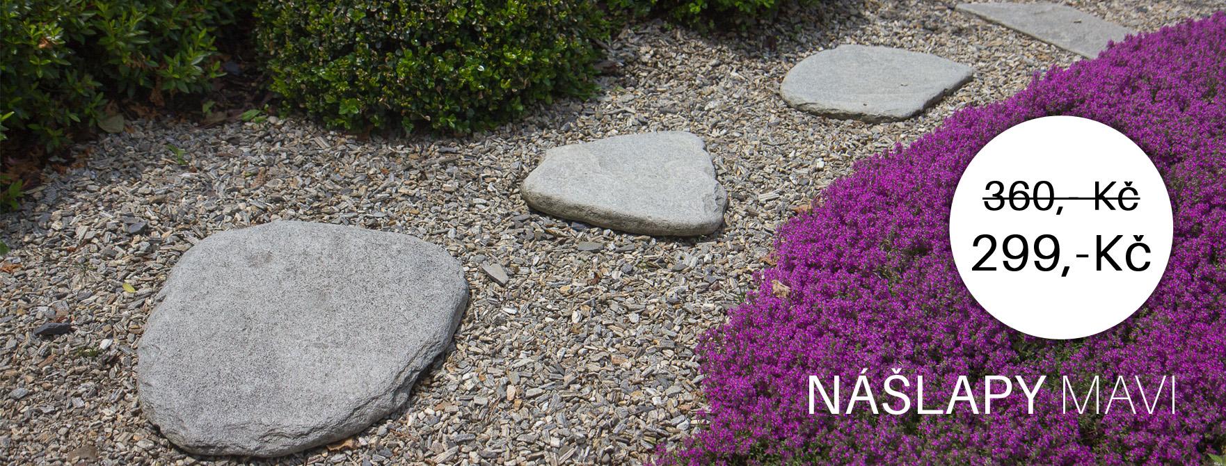 Nášlapy z přírodního kamene