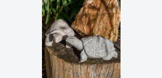 Želva větší (žula) (Vybere si barevnost Šedá žula)