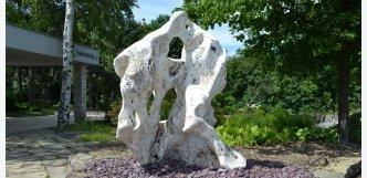 Dekorace na zahradu z přírodního kamene K 115