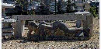 buddha ležící