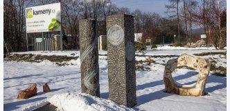 kamenná fontána Block 180cm