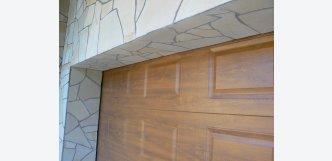 Kora Bavoria - kamenný obklad