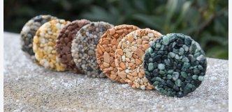 kamenné koberce vzorky
