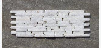 Mozaika White Marble - 0,36 m²  - VÝPRODEJ + DOPRAVA ZDARMA