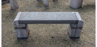 lavička z kamene