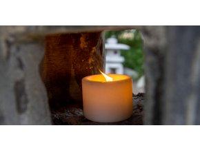 Venkovní zahradní svíčka