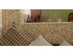 Kamenná mozaika 3D Crem