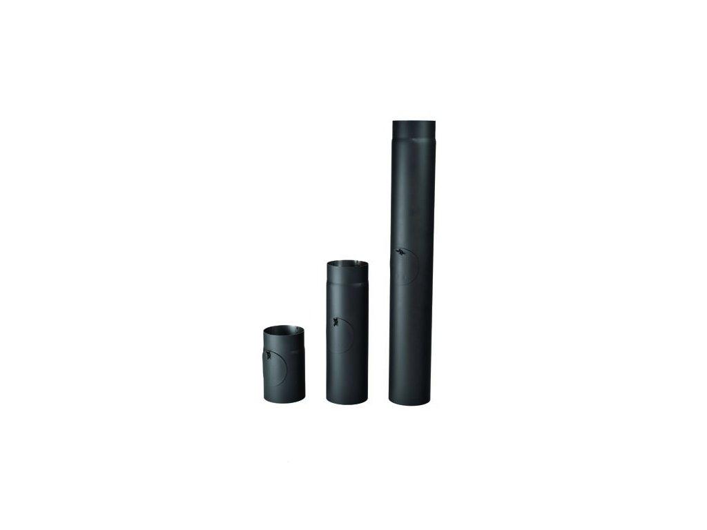 kouřová roura s čistícím otvorem 250 500 1000 JBG1190 kopie