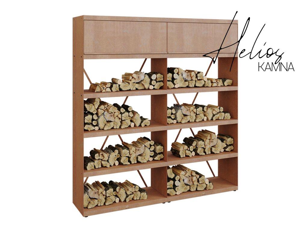 Wood Storage 200 Corten (1)