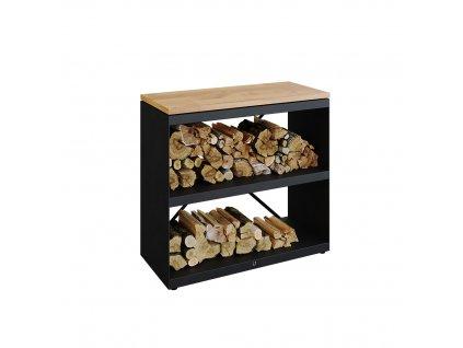 Wood Dressoir Black