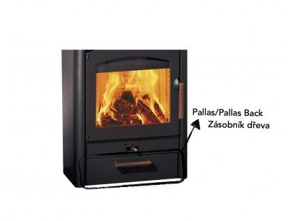 Pallas Back zásobník na dřevo