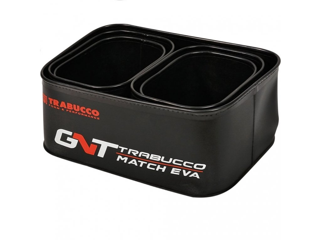 Trabucco Sada misek GNT Match EVA Groundbait Mini Bowl Set 1+4